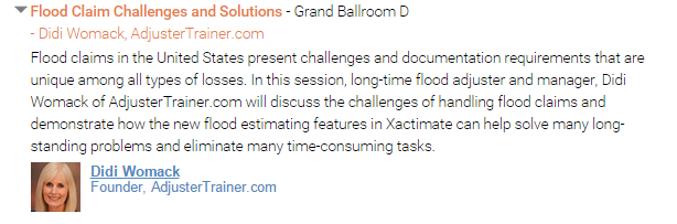 Flood Claims Challenges and Solutions - Presentation